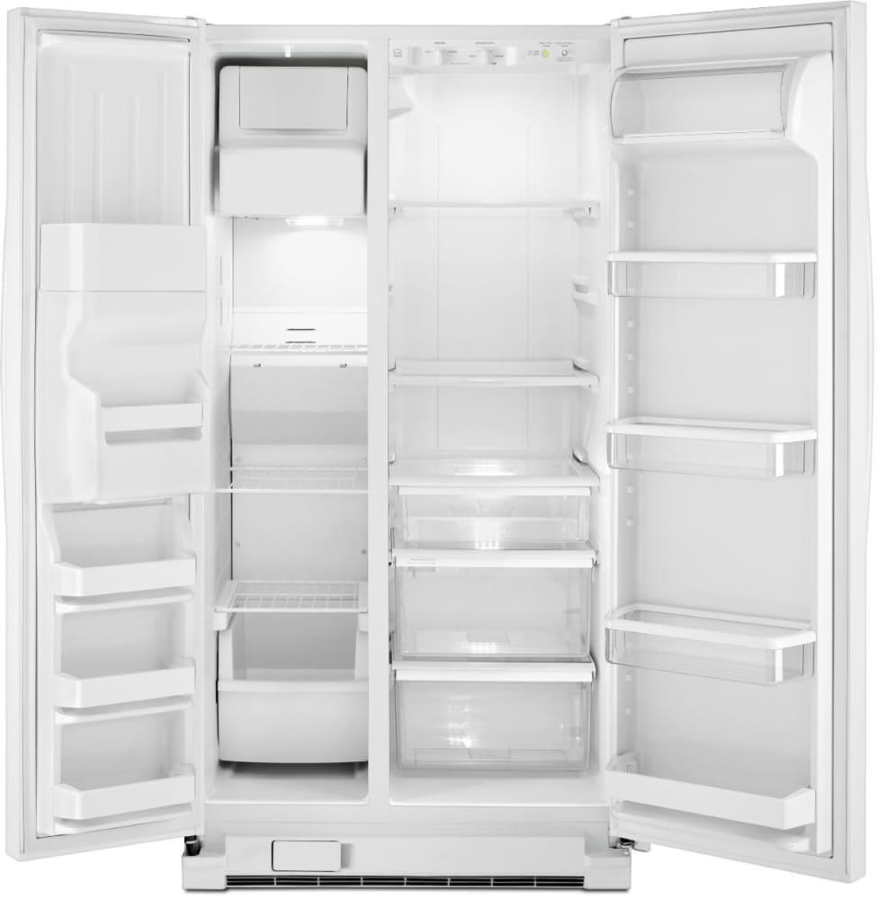Whirlpool Wrs331fddw 33 Inch Side By Side Refrigerator