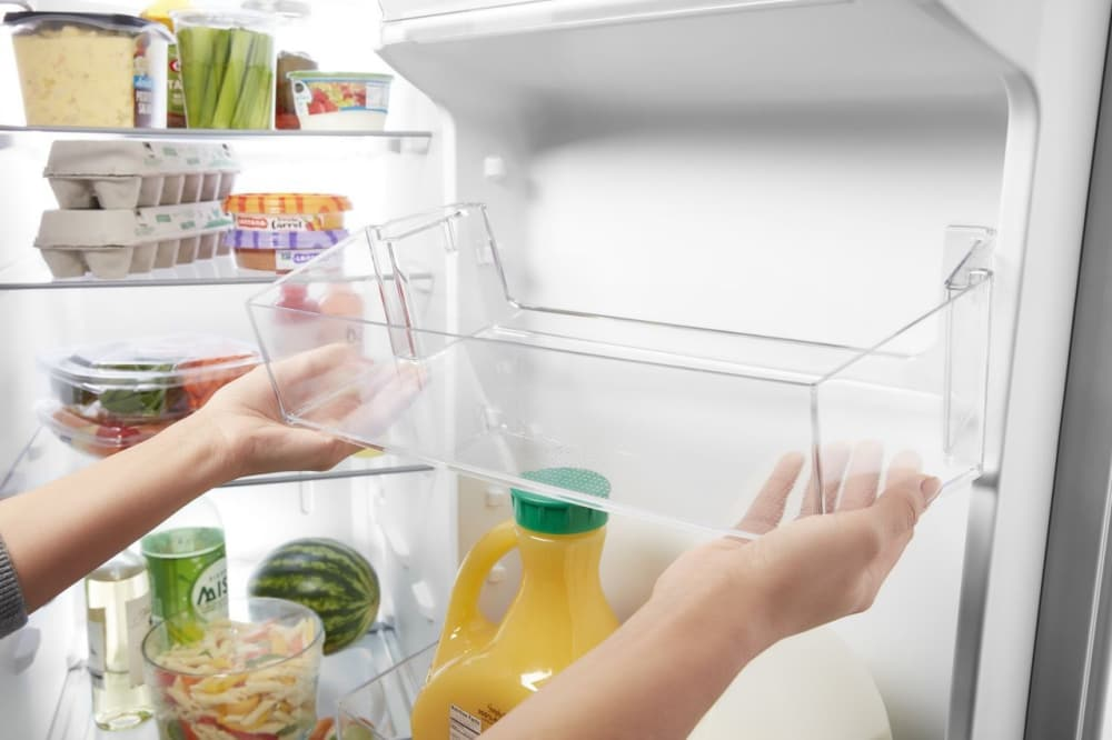 Whirlpool Wrs331sdhw 33 Inch Side By Side Refrigerator