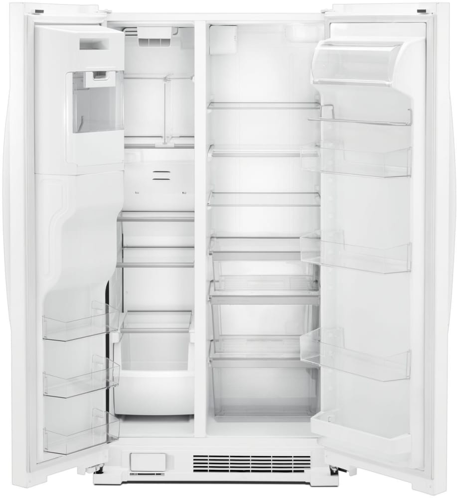 Whirlpool Wrs555sihw 36 Inch Side By Side Refrigerator