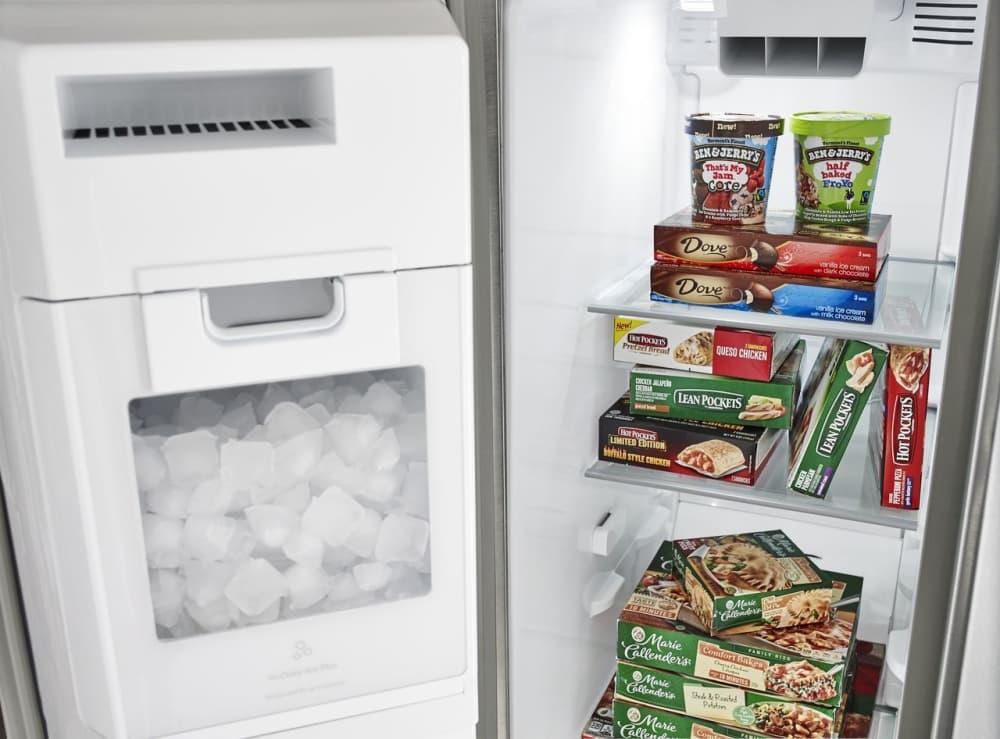 Whirlpool Wrs975sidm 25 Cu Ft Side By Side Refrigerator