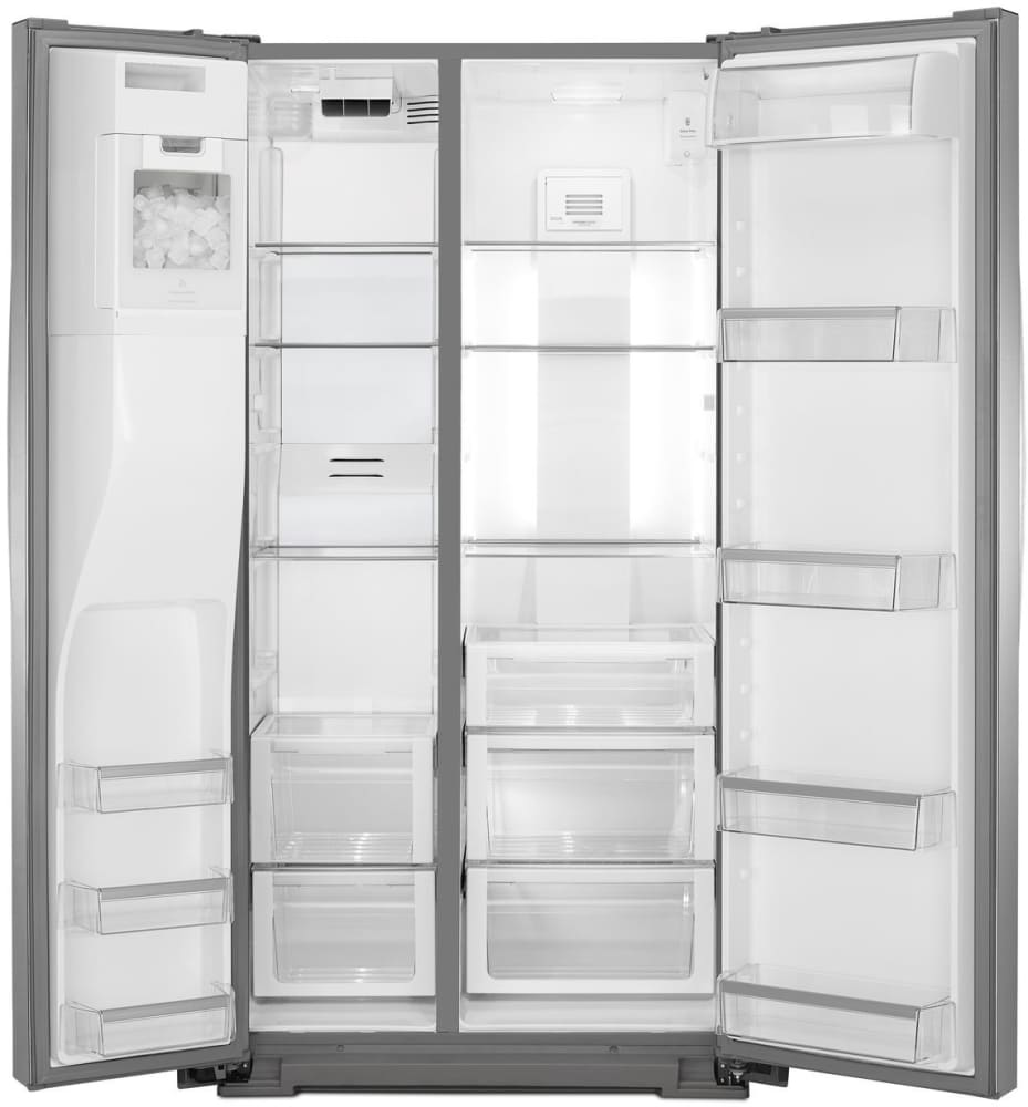 Whirlpool Wrs975sidm 25 Cu Ft Side By Side Refrigerator