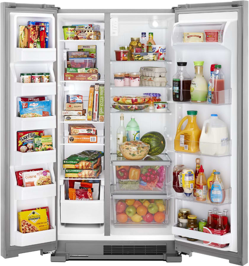 Whirlpool Wrsa15snhz 36 Inch Side By Side Refrigerator
