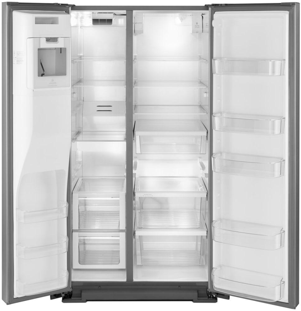 Whirlpool Wrsa88fihz 36 Inch Side By Side Refrigerator