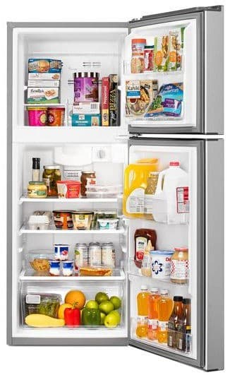 Whirlpool Wrt111sfd 25 Inch Top Freezer Refrigerator With