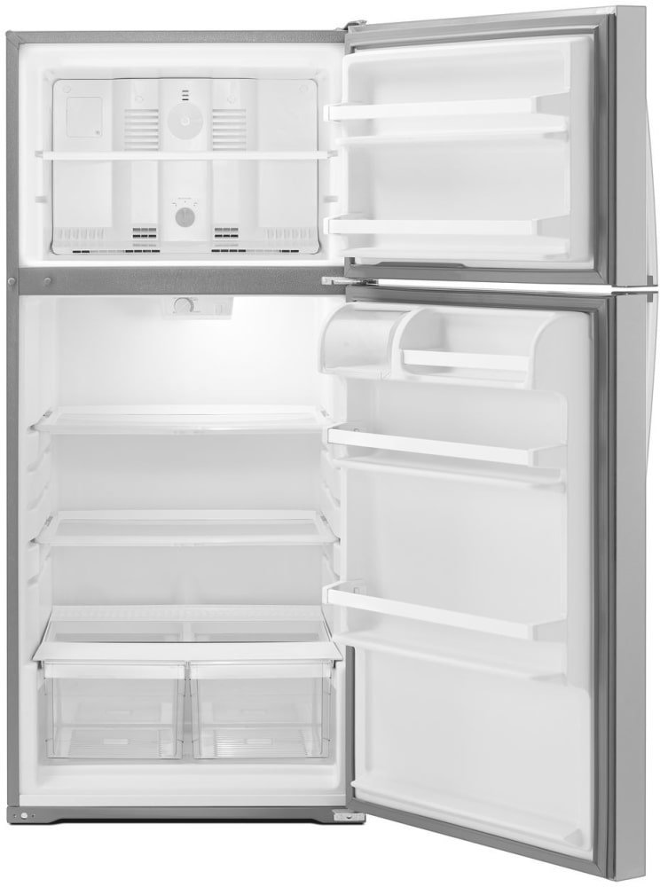 Whirlpool Wrt134tfdm 28 Inch Top Freezer Refrigerator With