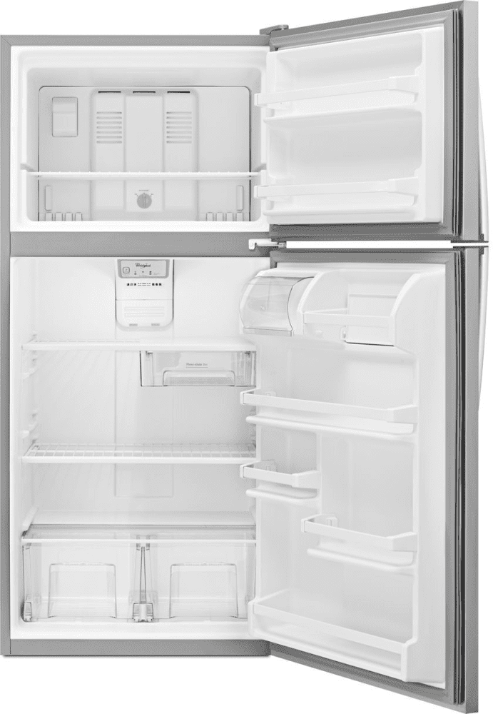 Whirlpool Wrt138fzdm 30 Inch Top Freezer Refrigerator With