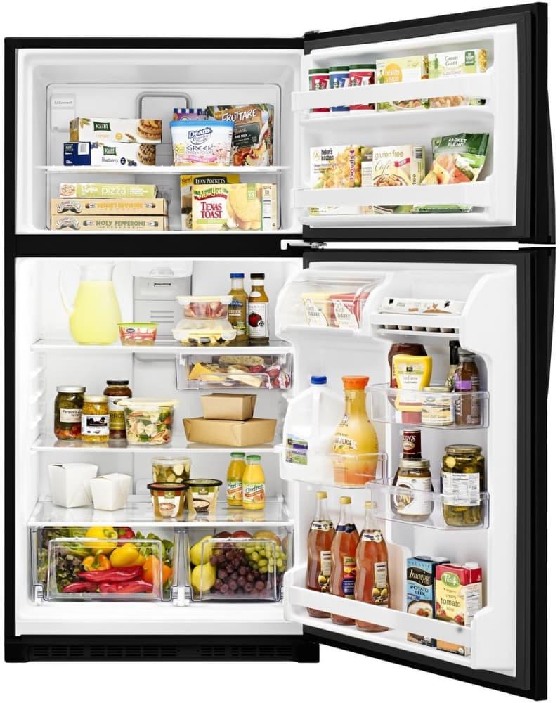 whirlpool refrigerator top freezer. whirlpool wrt311fzdb - open view full refrigerator top freezer