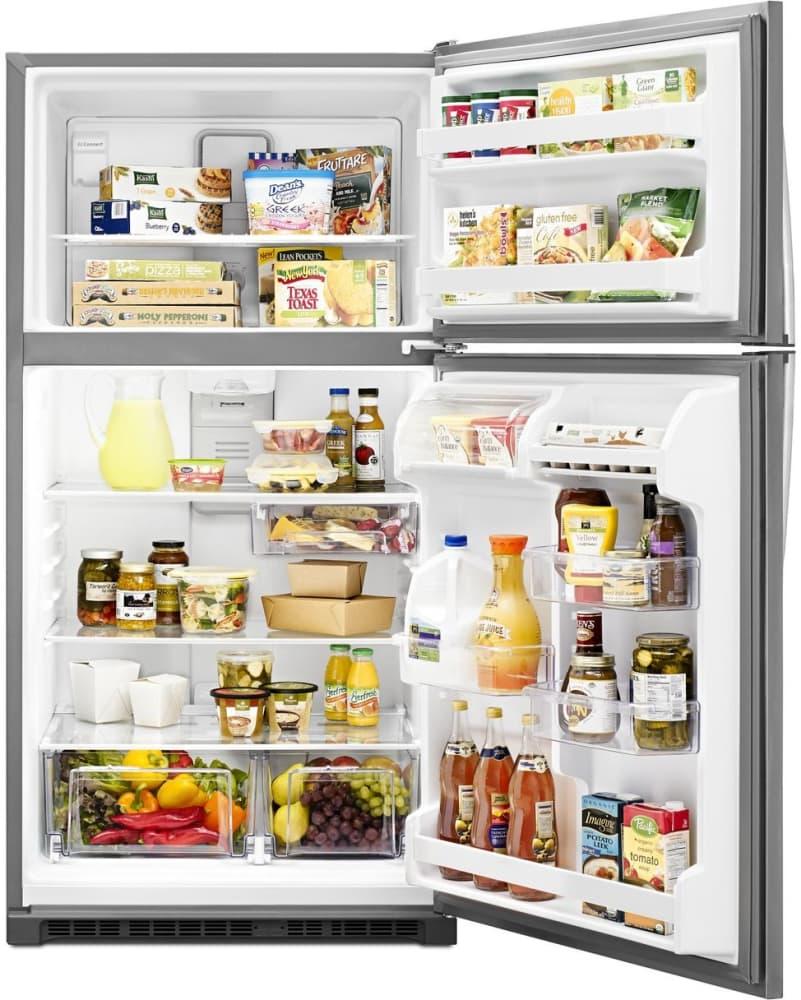 Whirlpool Wrt311fzdm 33 Inch Top Freezer Refrigerator With