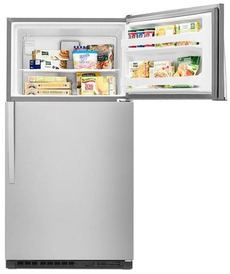 Whirlpool Wrt311fzdz 33 Inch Top Freezer Refrigerator With
