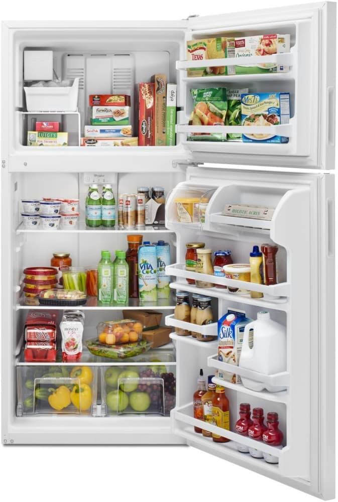 Whirlpool Wrt348fmew 30 Inch Top Freezer Refrigerator With
