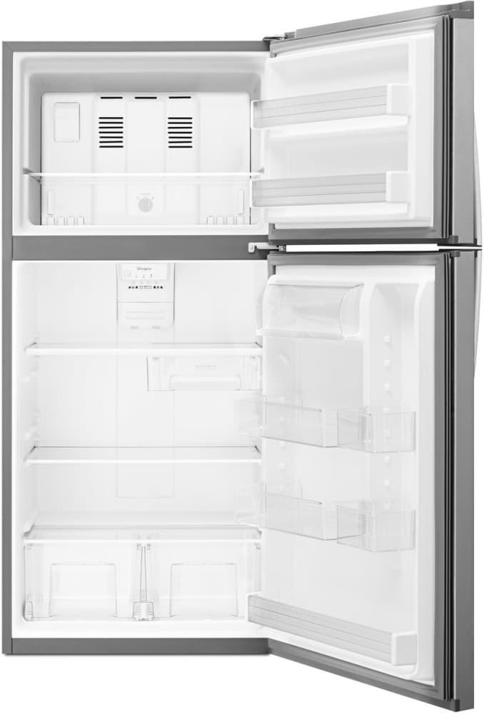 Whirlpool Wrt549szdm 30 Inch Top Freezer Refrigerator With