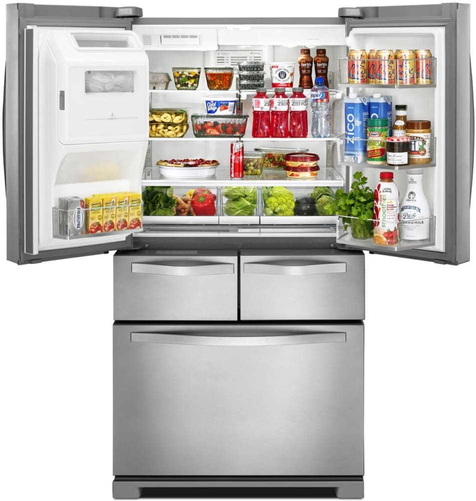 Whirlpool Wrv996fdem 36 Inch 4 Door French Door Refrigerator With 4