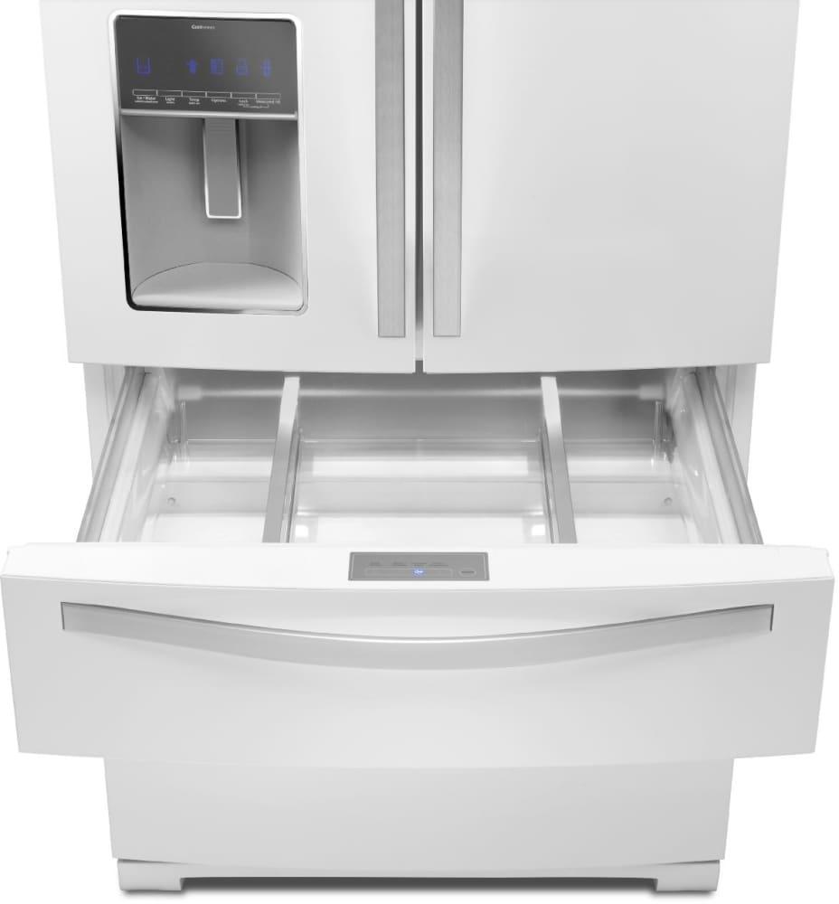 Whirlpool white ice counter depth french door -  Whirlpool Wrx988sibh Freshstor Refrigerated Drawer