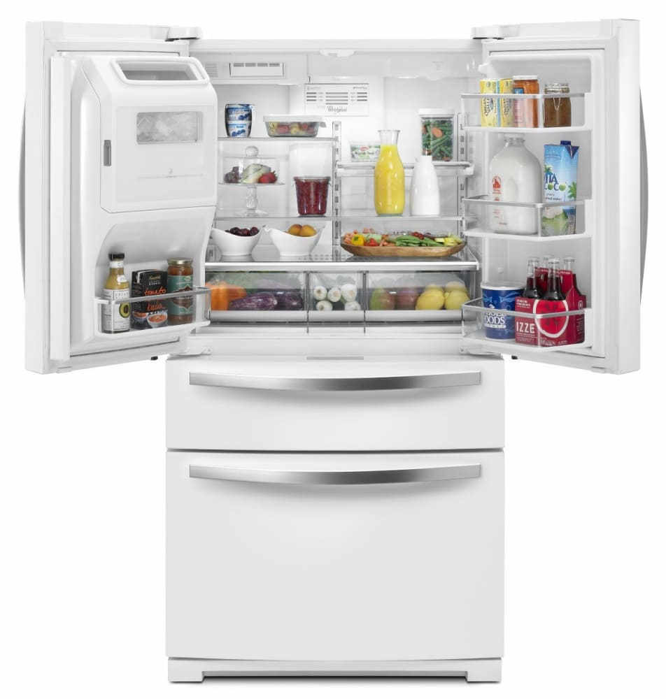 Whirlpool white ice products - Whirlpool Wrx988sibh White Ice Whirlpool Wrx988sibh Open View