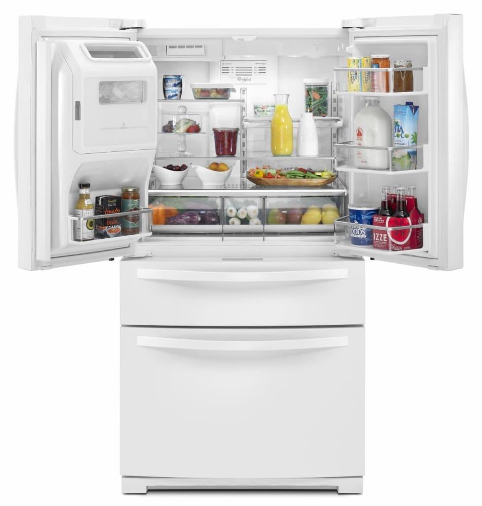 Whirlpool Wrx988sibw 36 Inch 4 Door French Door Refrigerator With