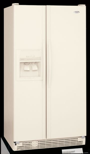 Whirlpool Gd5shaxns 25 5 Cu Ft Side By Side Refrigerator