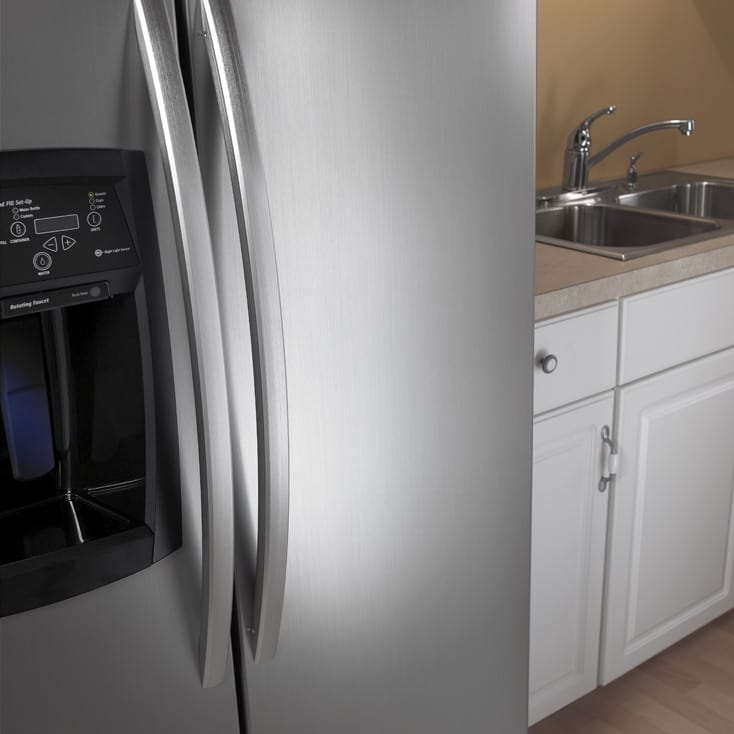 Smart Choice Auto >> Whirlpool GS6NVEXSL 25.6 cu. ft. Side by Side Refrigerator ...