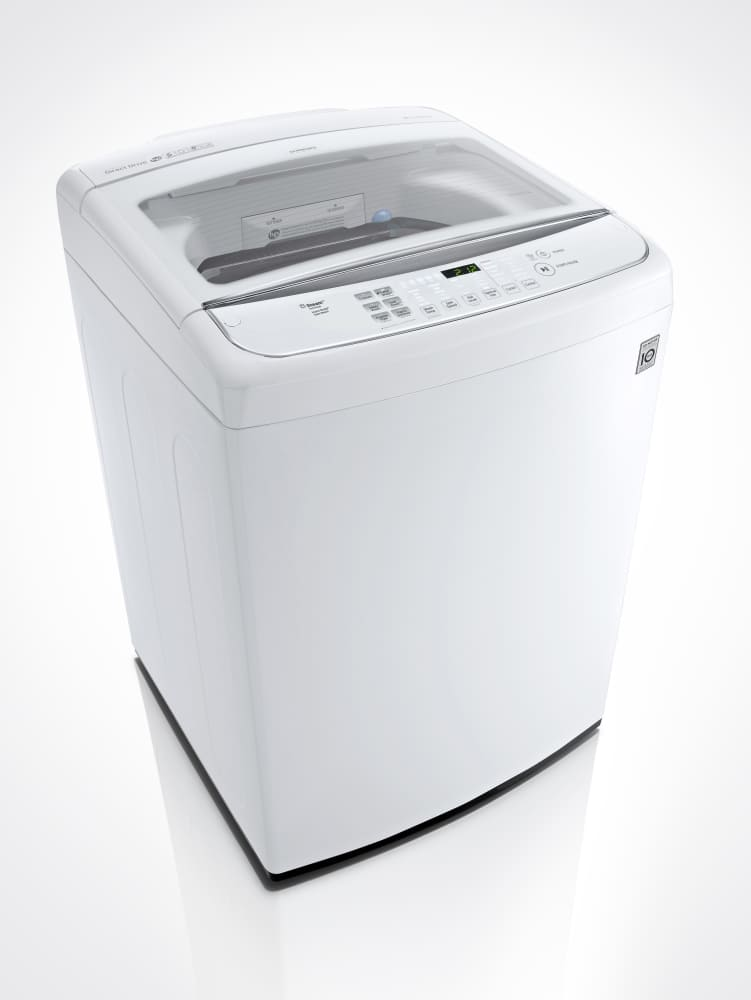 Lg Wt1801hwa 27 Inch 5 0 Cu Ft Top Load Washer With 12