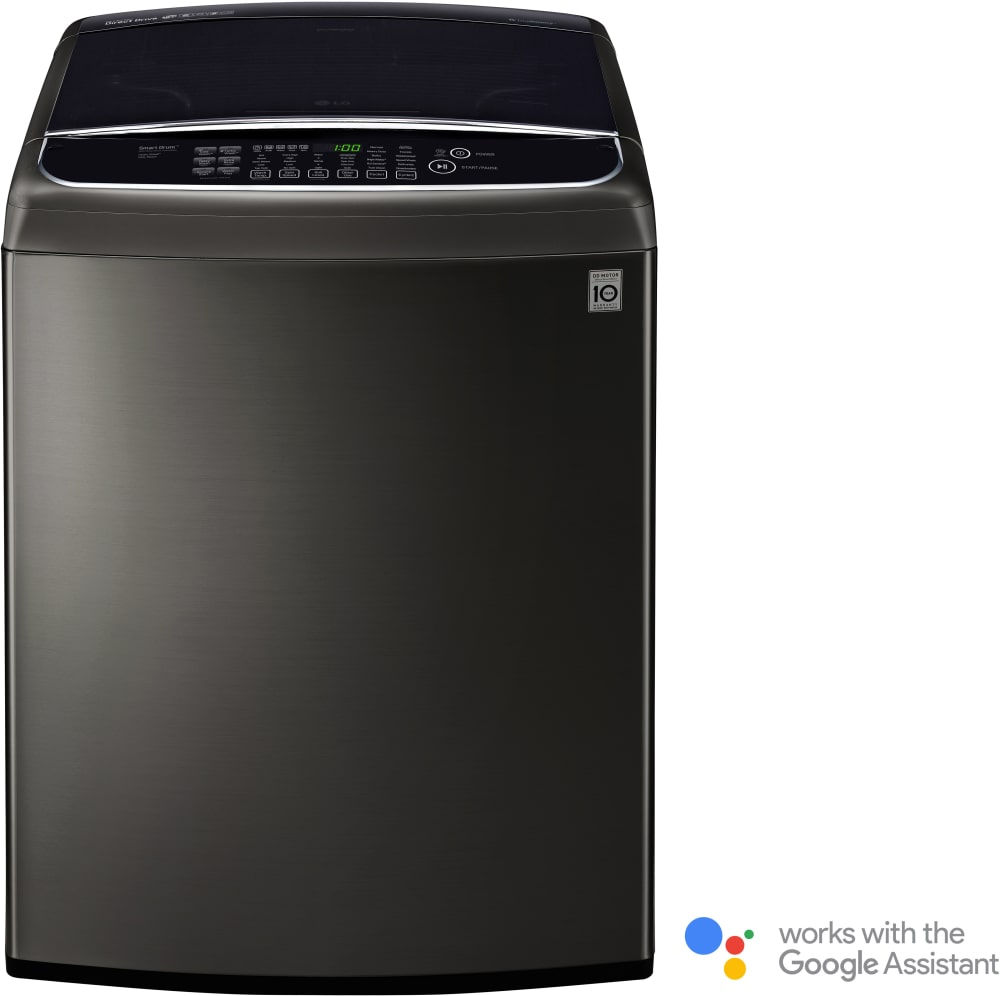 LG WT1901CK 27 Inch Top Load Washer With TurboWash®, Slam
