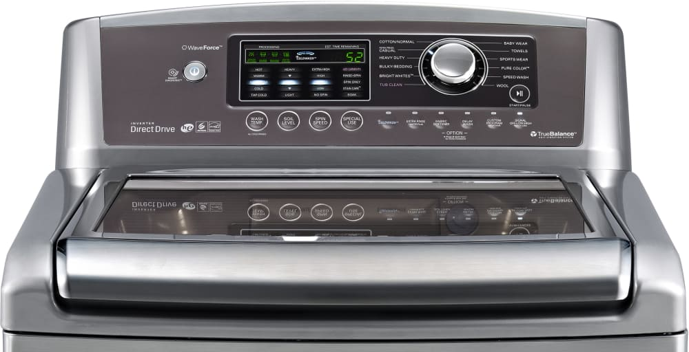 Lg Wt5070cv 27 Inch Top Load Washer With 4 7 Cu Ft