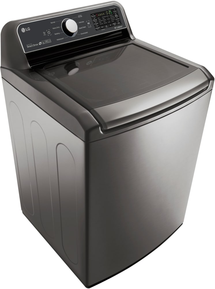 lg wt7200cv 27 inch top load washer with smartthinq wi fi technology 6motion technology. Black Bedroom Furniture Sets. Home Design Ideas