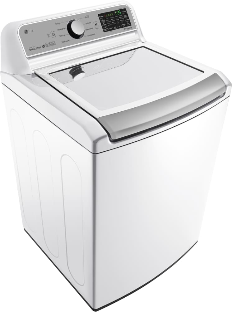 Best Top Load Washers >> LG WT7200CW 27 Inch Top Load Washer with Wi-Fi Connectivity, TrueBalance™ Plus, ColdWash Option ...