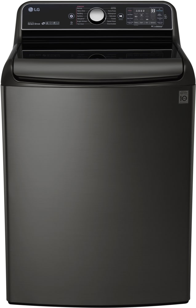 lg wt7700hka 29 inch 5 7 cu ft top load washer with 14 wash cycles 1 050 rpm steam. Black Bedroom Furniture Sets. Home Design Ideas