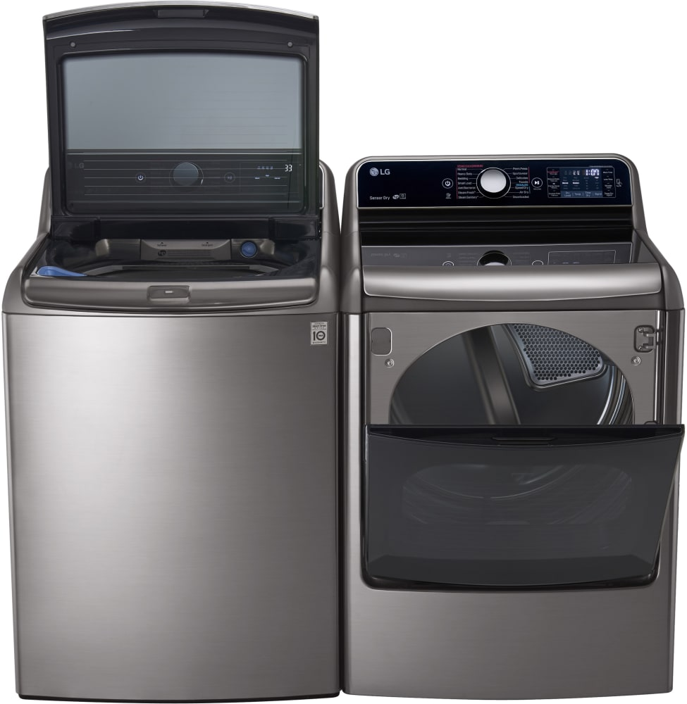 Lg Wt7700hva 29 Inch 5 7 Cu Ft Top Load Washer With 14