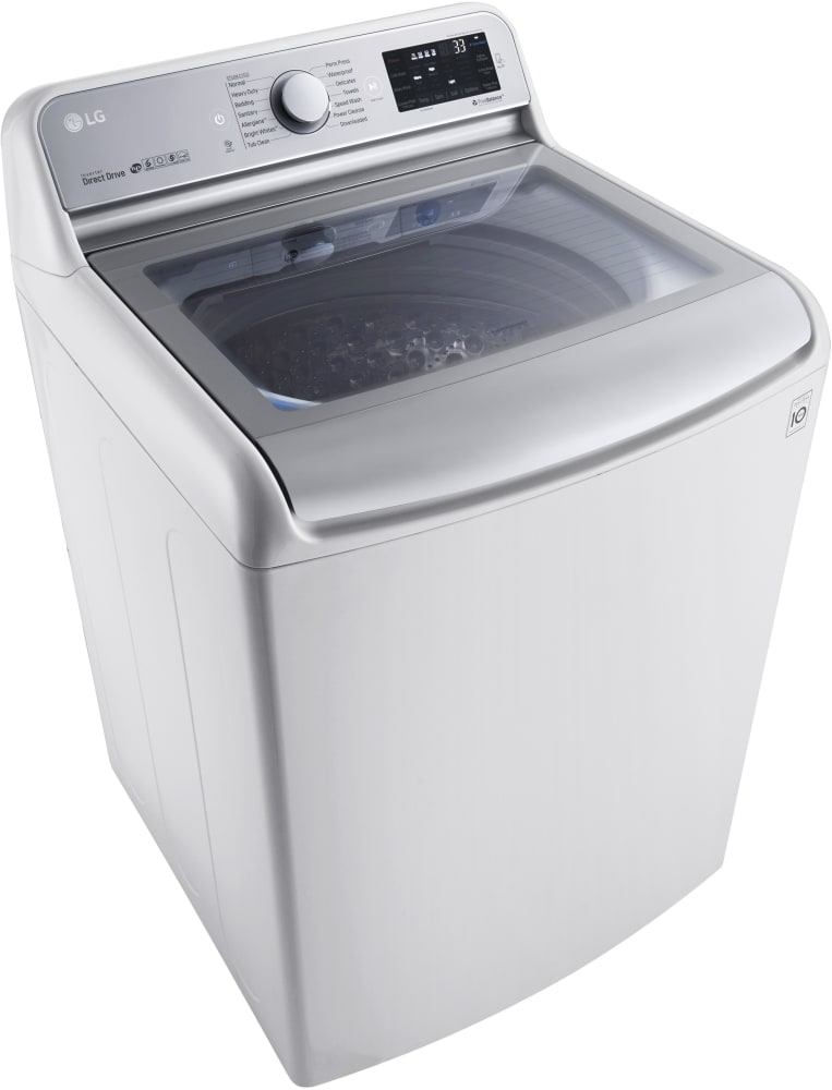 Lg Turbowash Series Wt7700hwa Top Load Washer In White From