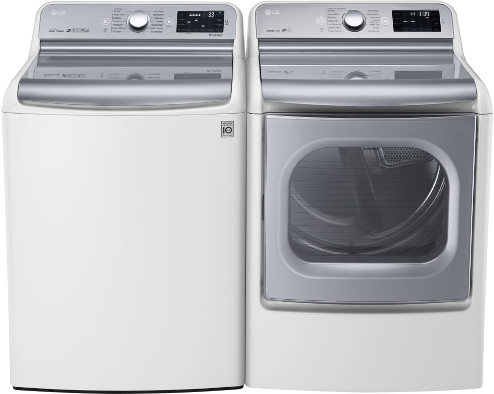 Best Top Load Washers >> LG WT7700HWA 29 Inch 5.7 cu. ft. Top Load Washer with 14 Wash Cycles, 1,050 RPM, Steam ...