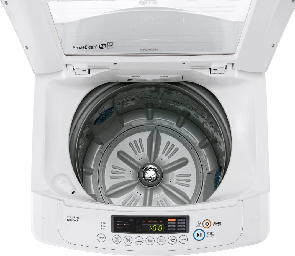 Lg Wt901cw 25 Inch Top Loader Washer With 3 3 Cu Ft