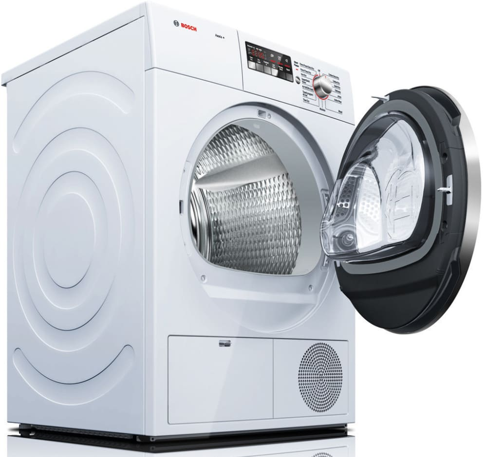 Bosch Dryer: Bosch WTB86202UC 24 Inch Ventless Electric Dryer With 4.0