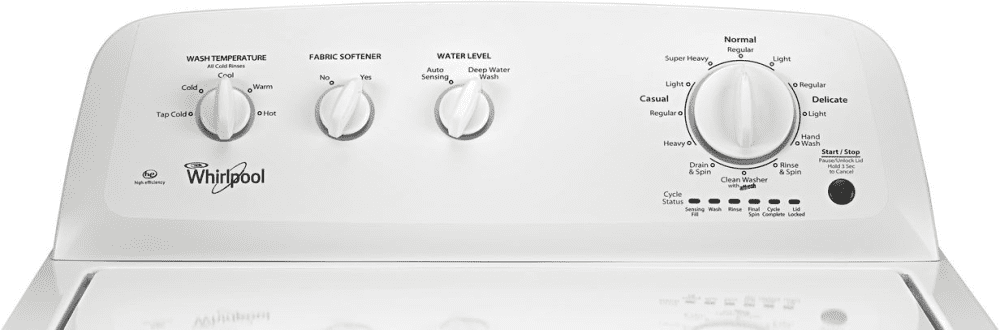 Whirlpool Wtw4616fw 27 Inch Top Load Washer Closeout