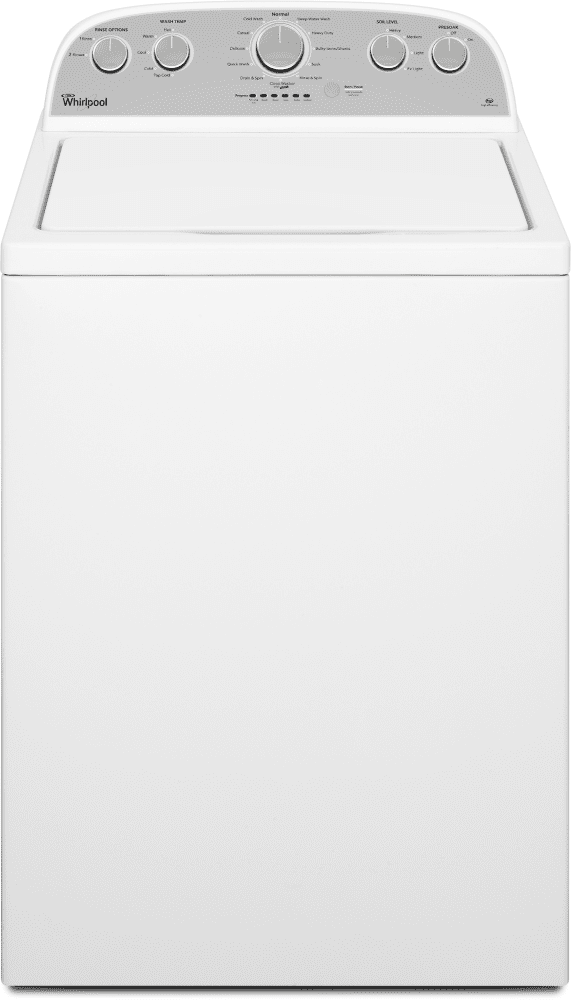 Whirlpool Wtw4915ew 27 Inch 3 6 Cu Ft Top Load Washer