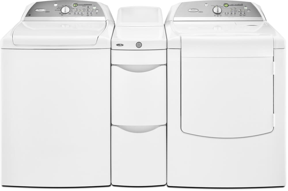 Whirlpool Wtw6500ww 28 Inch Top Loader Washer With 5 Cu