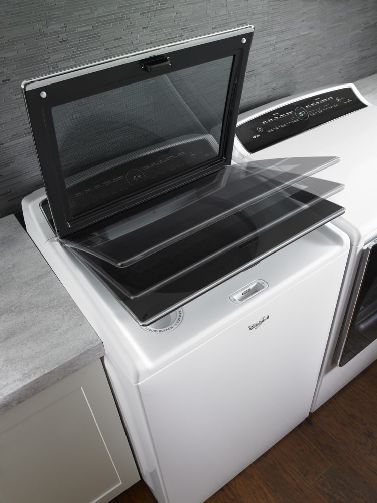 Whirlpool WTW8000DW 28 Inch 5.3 cu. ft. Top Load Washer with 11 Wash ...