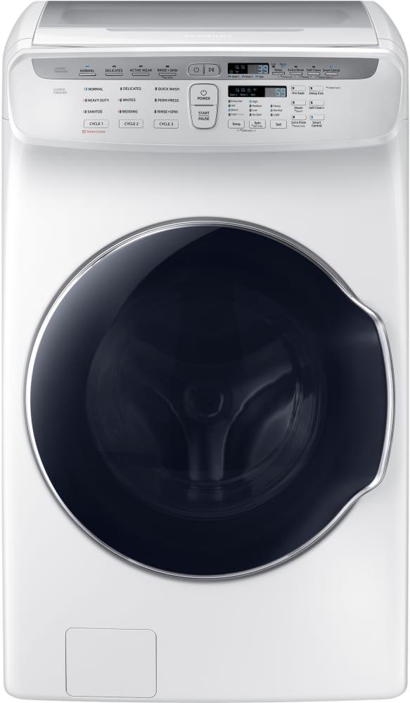 Samsung Wv55m9600aw 27 Inch Flexwash Smart Washer With