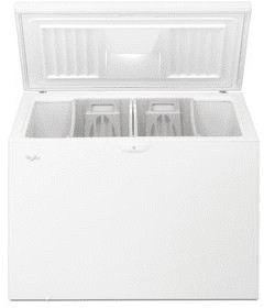 Whirlpool Wzc3115dw 15 Cu Ft Chest Freezer With 2 Large