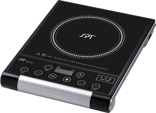 sunpentown rr9215 12 inch portable micro computer electric cooktop with 1 500 watts radiant. Black Bedroom Furniture Sets. Home Design Ideas