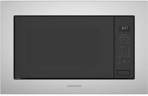 Monogram Zeb1227slss 2 2 Cu Ft Built In Microwave With
