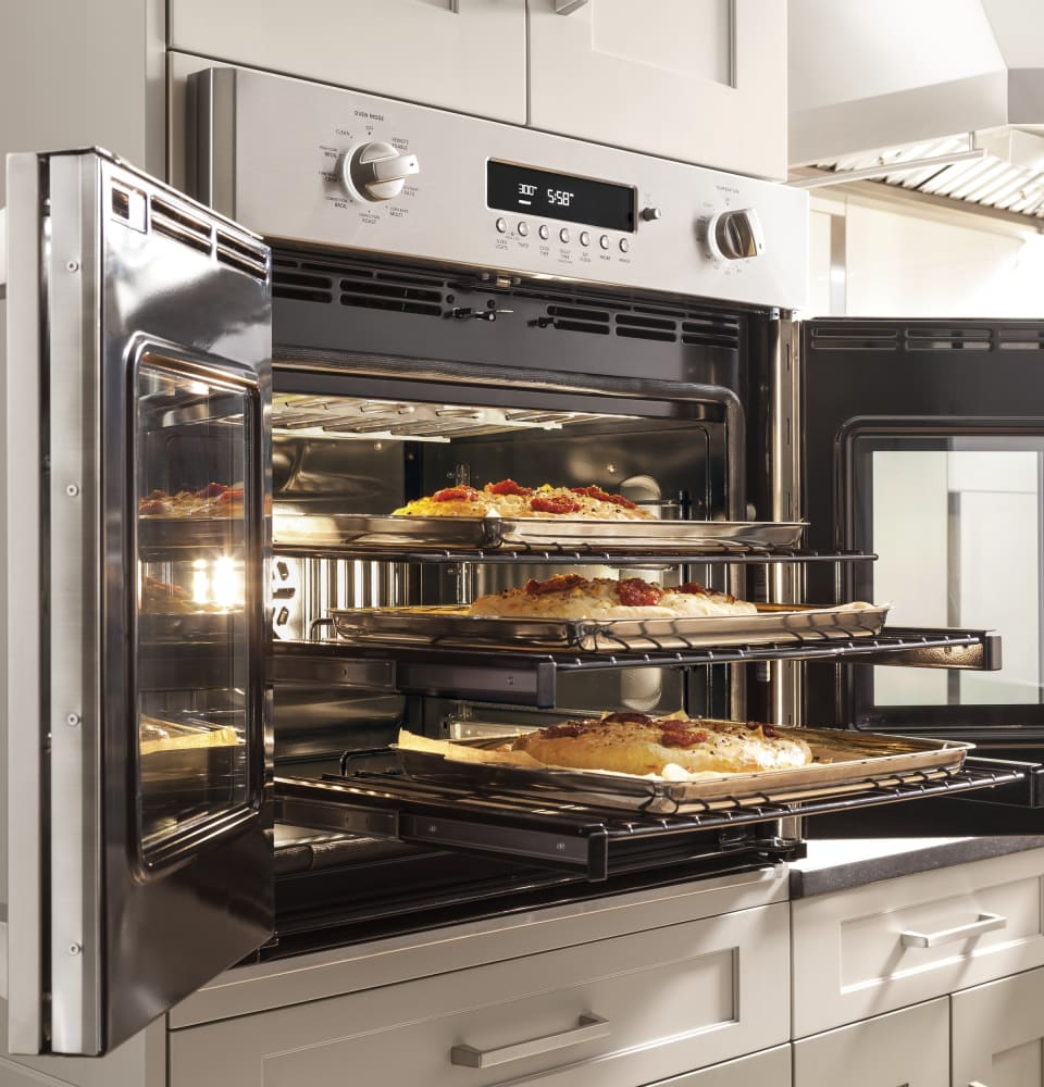 Monogram Zet1fhss 30 Inch Built In French Door Convection