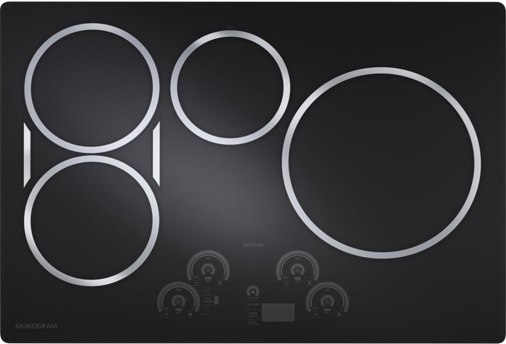 Monogram Zhu30rdjbb 30 Ge Induction Cooktop Black Graphite