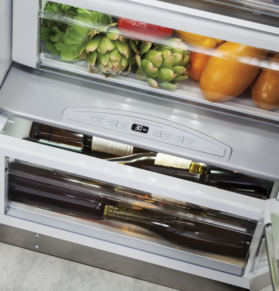Monogram ZISS420DKSS   The Climate Control Drawer Allows You To  Express Chill Beverages, ...