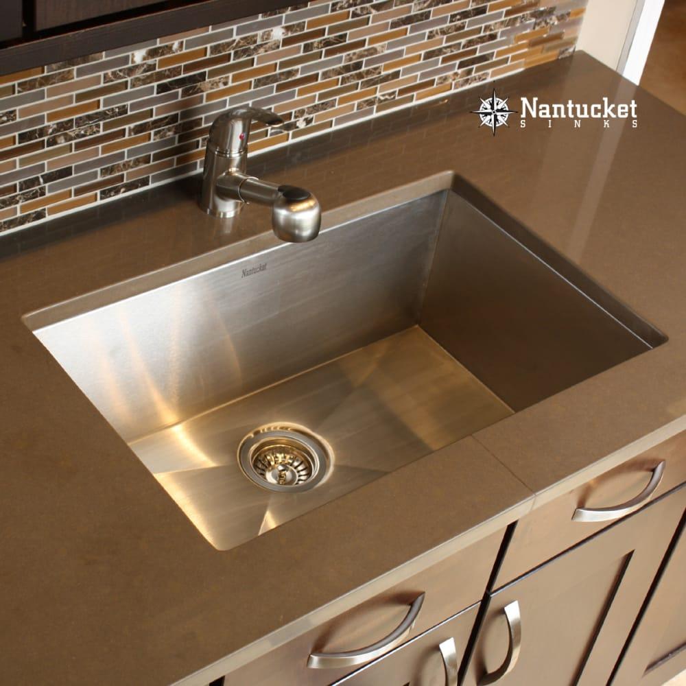 Nantucket Sinks Zr281816 28 Inch Undermount Kitchen Sink With 10