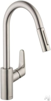 Hansgrohe Focus Series 04505800 - Steel Optik Model