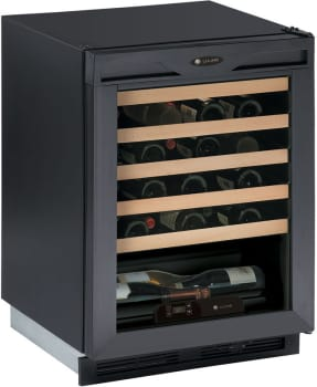 U-Line Wine Captain 1000 Series U1175WCB13 - Black