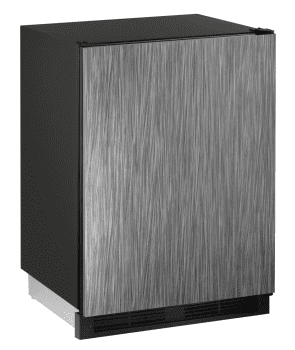 U-Line 1000 Series U1224BEVINT60B - Solid Overlay Front View