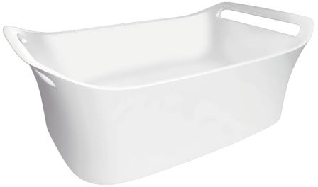 Hansgrohe Axor Urquiola Series 11300000 - White Cast-Marble Sink