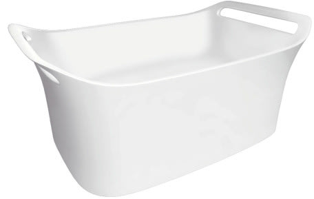 Hansgrohe Axor Urquiola Series 11302000 - Wall-Mount Cast Marble Sink