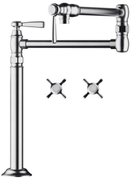 Hansgrohe 16860821 - Shown in Chrome Finish
